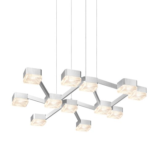 Lattice 12 Light Pendant
