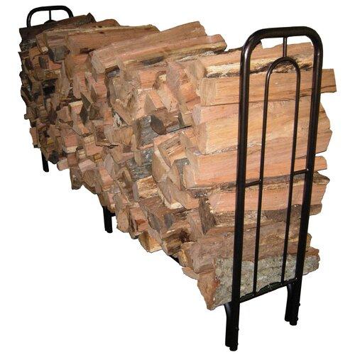 8' Contemporary Arch Log Rack