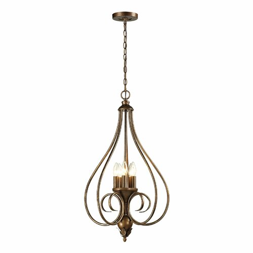 Hamilton 5 Light Pendant