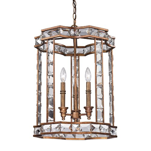 Montclare 3 Light Foyer Pendant
