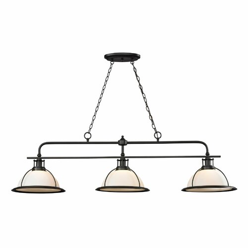 Wilmington 3 Light Kitchen Island/Billiard Pendant