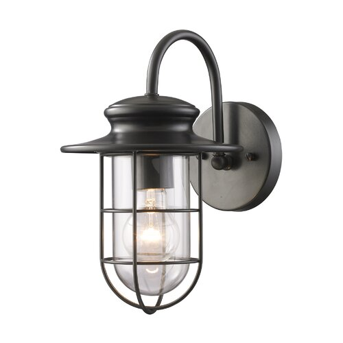 Elk Lighting Portside 1 Light Outdoor Wall Lantern