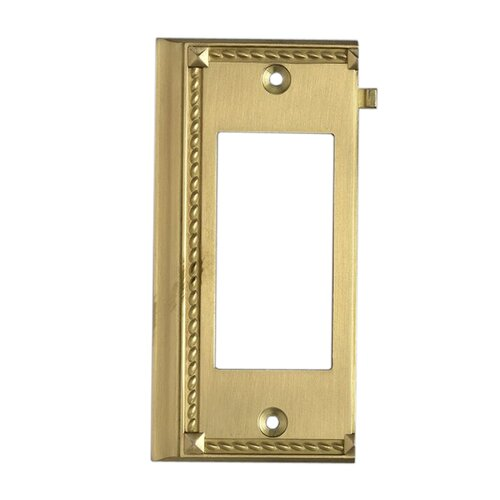 Elk Lighting Clickplates Large End Switch Plate in Brass