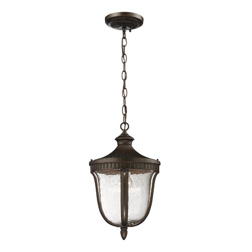 Elk Lighting Freeport 1 Light Outdoor Pendant