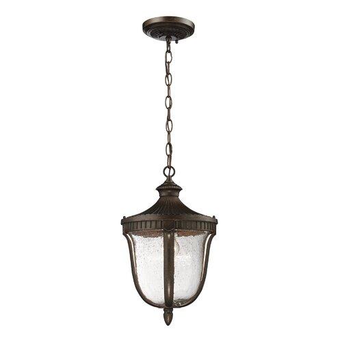 Elk Lighting Freeport 1 Light Outdoor Pendant