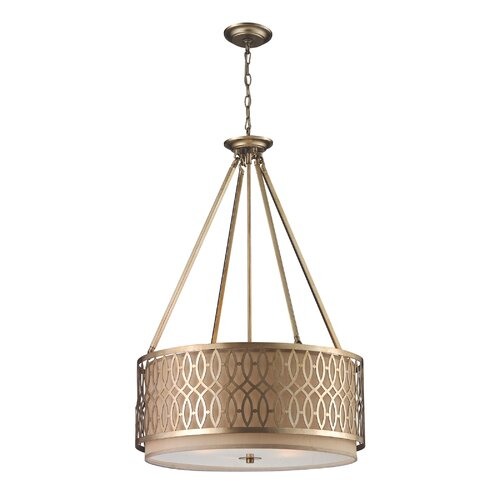 Elk Lighting Freeport 5 Light Drum Pendant