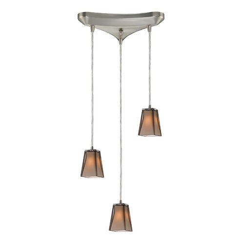 Elk Lighting Freeport 3 Light Linear Pendant