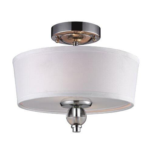 Elk Lighting 2 Light Semi-Flush