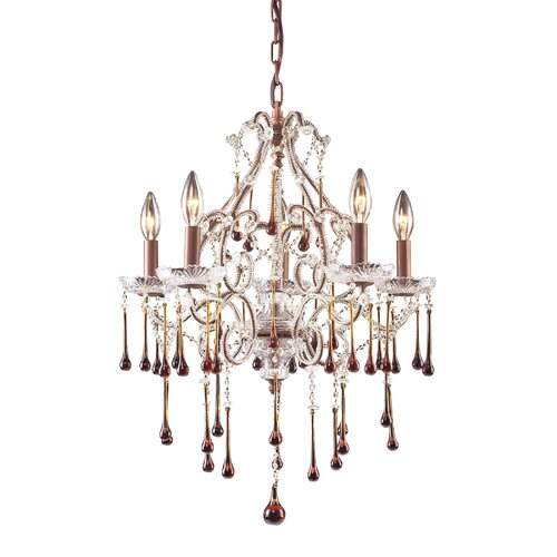 Elk Lighting 5 Light Chandelier