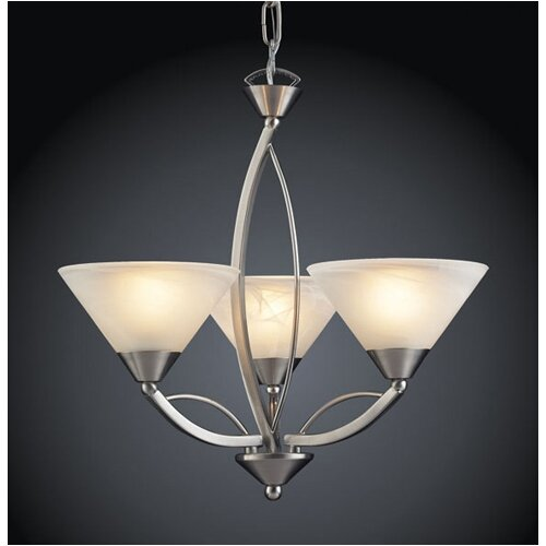 Elk Lighting Elysburg Mini 3 Light Chandelier