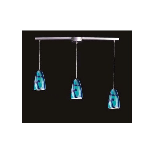 Elk Lighting Fuego 3 Light Linear Pendant