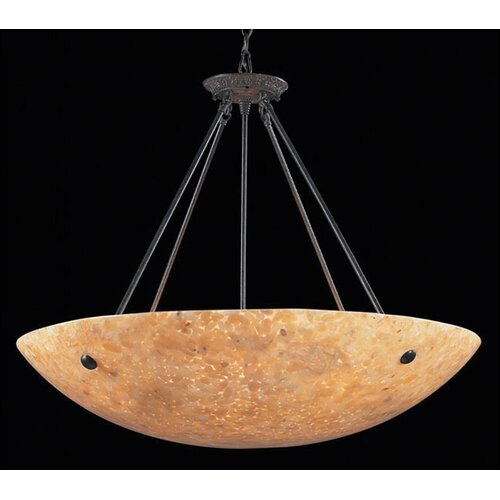 Elk Lighting Stonybrook 8 Light Inverted Pendant