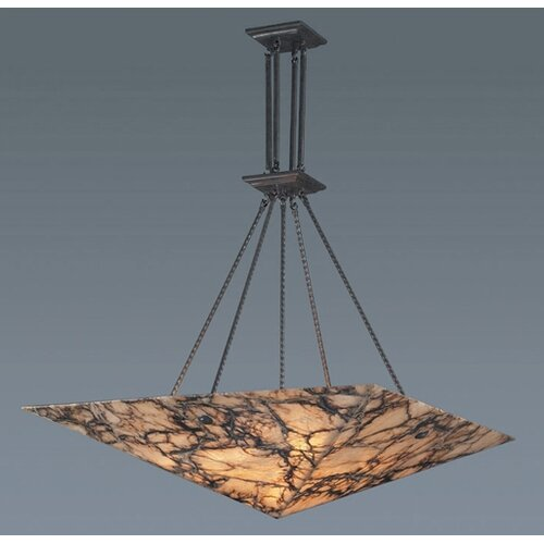 Imperial Granite 6 Light Inverted Pendant