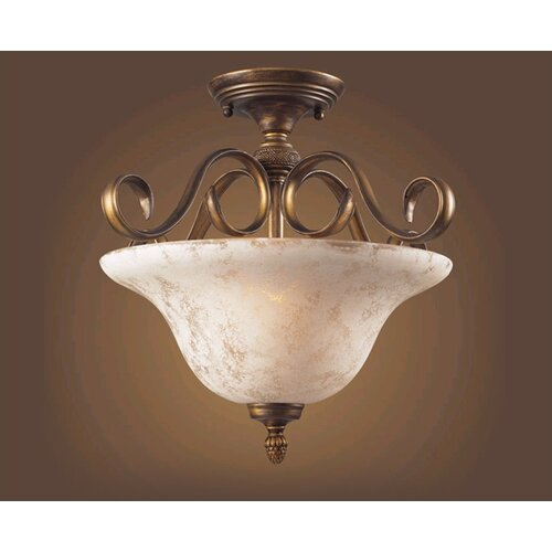 Elk Lighting Briarcliff 2 Light Semi Flush Mount