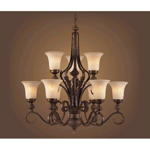 Briarcliff 9 Light Chandelier