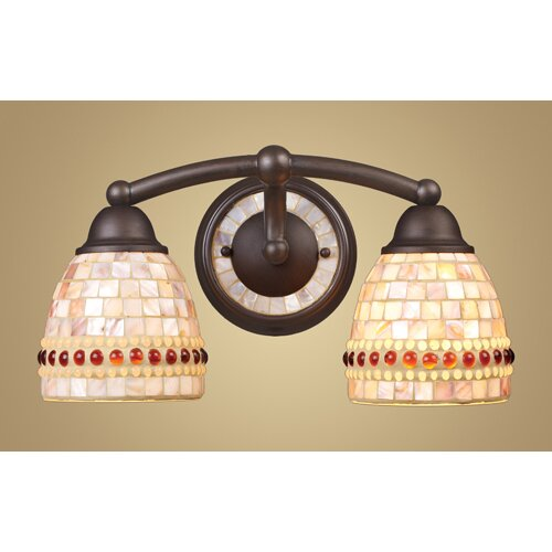 Elk Lighting Roxana 2 Light Vanity Light