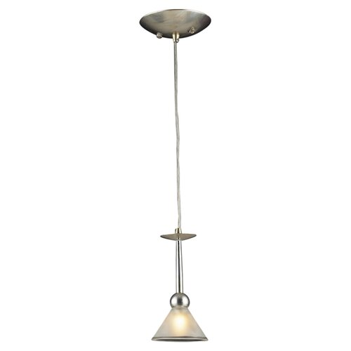 Martini Glass 1 Light Mini Pendant