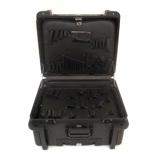 Platt Rotational Molded Tool Case with Wheels and Telescoping Handle