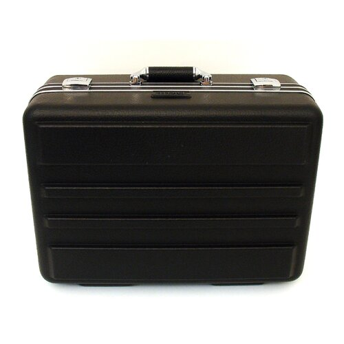 "Platt 19"" Deluxe Polyethylene Tool Case with Chrome Hardware: 14.25 x 19 x 9.13"