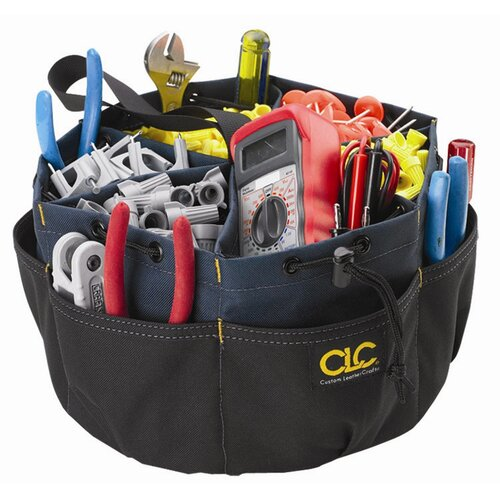 Platt CLC 22 Pocket Drawstring Bucket Tool Bag