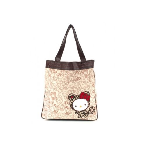 Hello Kitty Leopard Hug Me Tote Bag