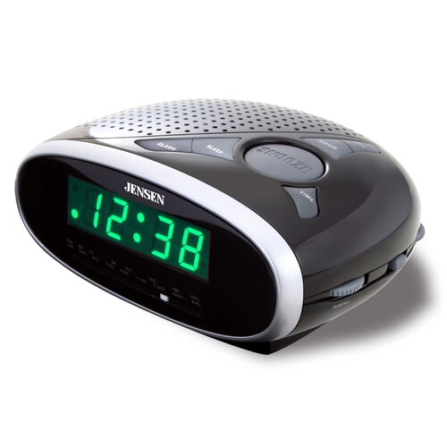 Jensen AM / FM Clock Radio