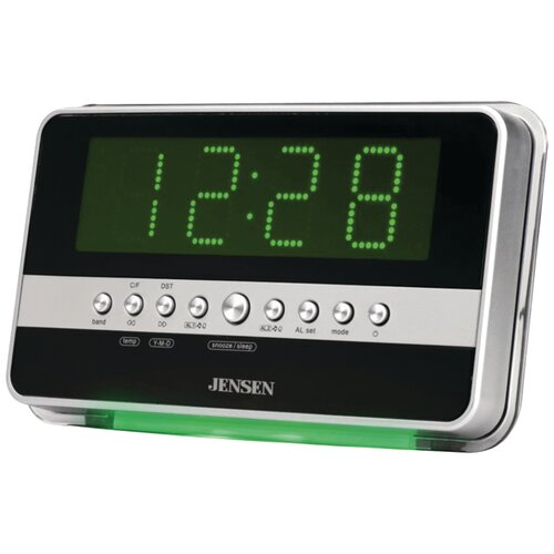 AM / FM Dual Alarm Clock Radio