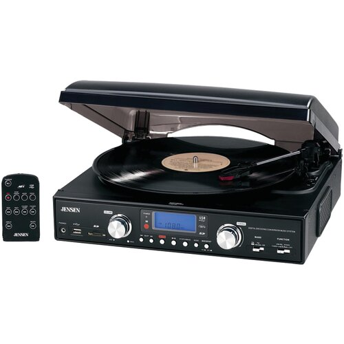 3-Speed Stereo Turntable