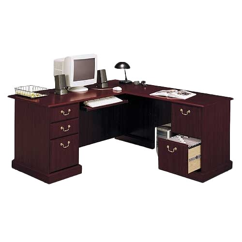 Bush Industries Saratoga Collection L-Shape Desk
