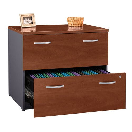Bush Industries Series C 2-Drawer Filing Cabinet