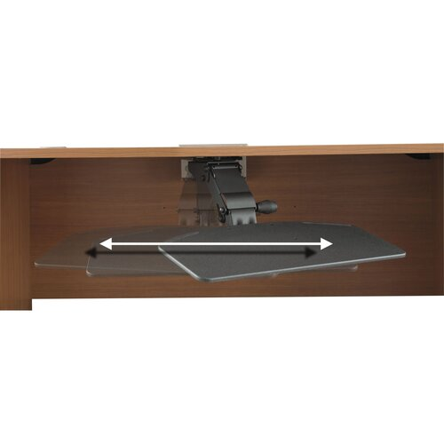 Bush Industries Office-in-an-Hour - Articulating Keyboard Shelf
