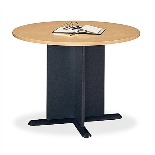 "Bush Industries Series A 42"" Round Conference Table"