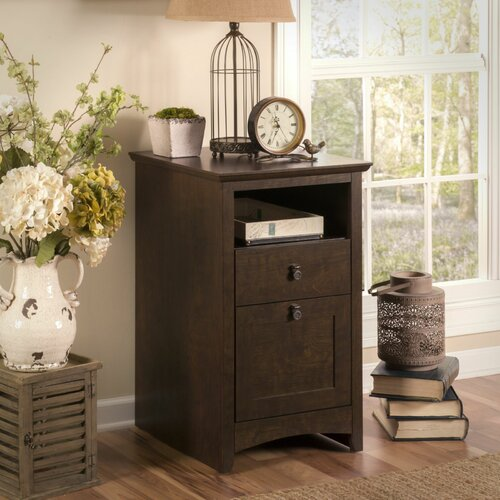 Bush Industries Buena Vista 2 Drawer Pedestal Filing Cabinet