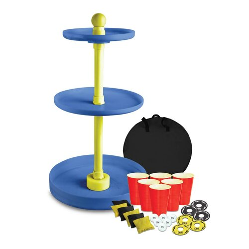 3D Toss - Washer, Bean Bag and Pong Game