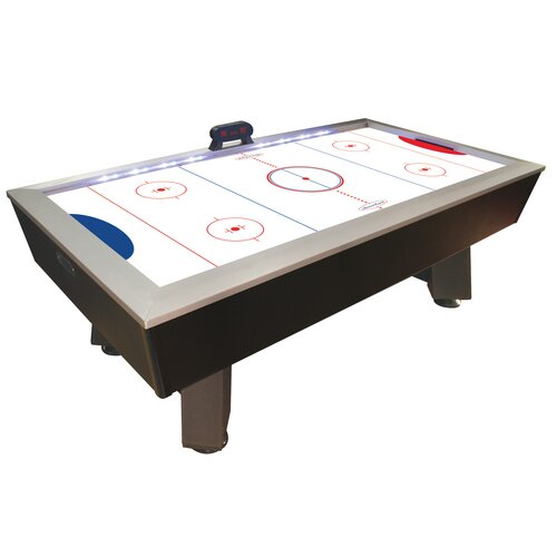 "DMI Sports 7'5"" Lighted Rail Air Hockey Table"