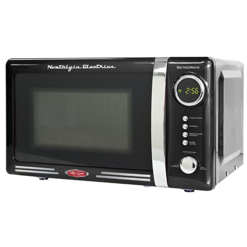 Nostalgia Electrics 0.7 Cu. Ft. 700W Retro Series Microwave Oven