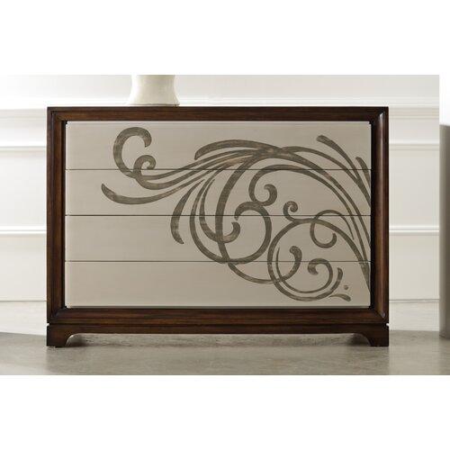 Hooker Furniture Melange Vassaro 4 Drawer Chest