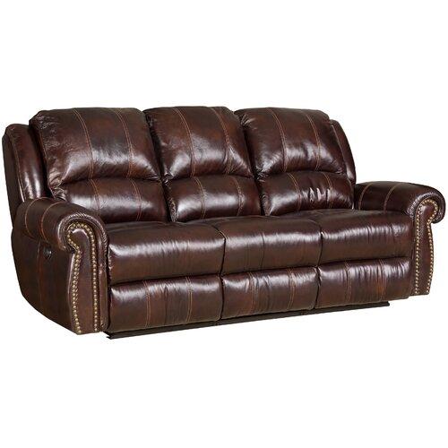 Genuine Leather Sectional Sofa Wayfair
