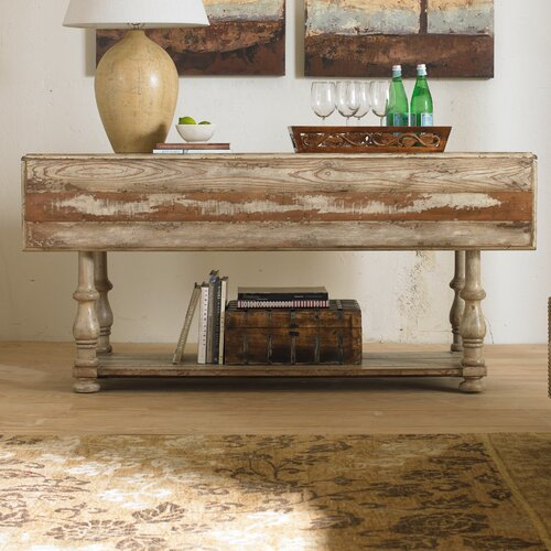 Hooker furniture wakefield console table reviews wayfair for Furniture 2 day shipping