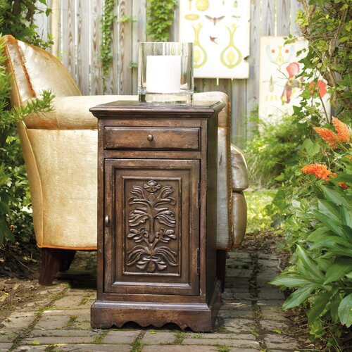 Melange Annika End Table