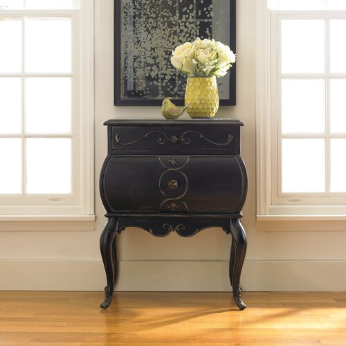 Hooker Furniture Seven Seas 2 Drawer Bombe Accent Chest
