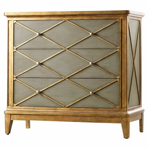 Hooker Furniture Melange Paxton 3 Drawer Chest