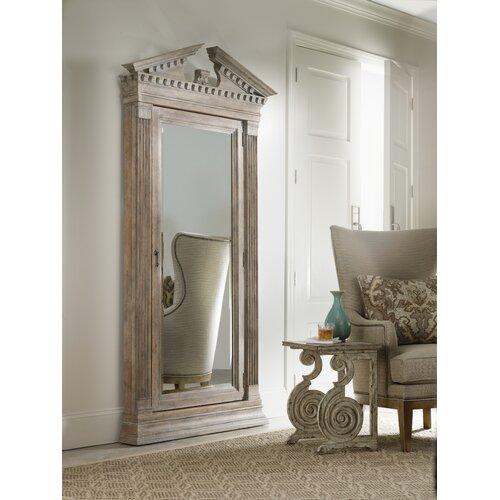 Rhapsody Floor Jewelry Armoire with Mirror   Wayfair