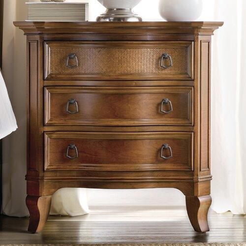 Hooker Furniture Windward 3 Drawer Nightstand