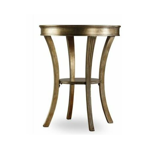 Sanctuary Round Mirrored Accent Table