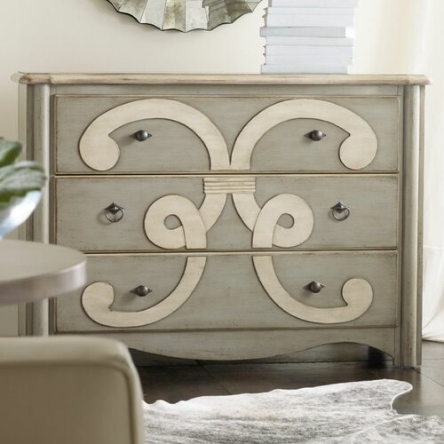 Hooker Furniture Melange Classique 3 Drawer Chest