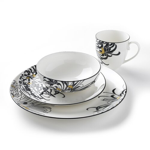 Chrysanthemum 4 Piece Place Setting