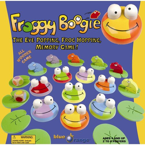 Froggy Boogie Memory Game