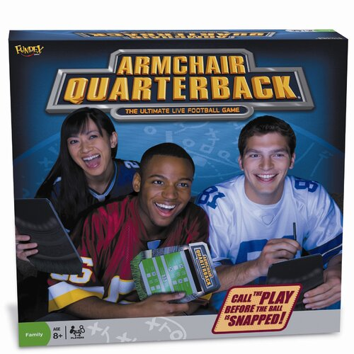 Fundex Games NFL Armchair Quarterback Game