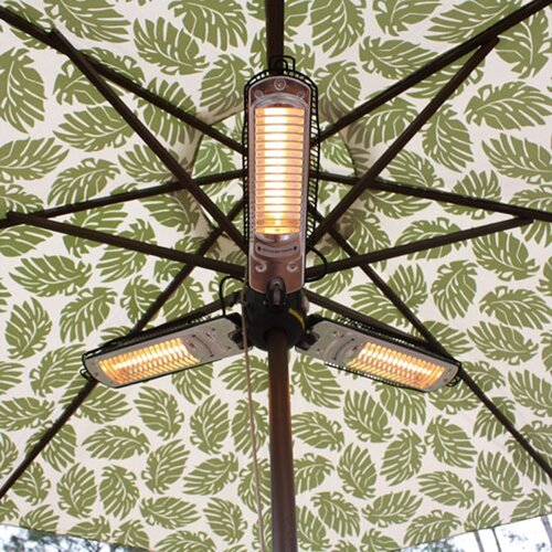 Fire Sense Umbrella Electric Patio Heater